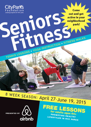CityParks Seniors Fitness in the Bronx