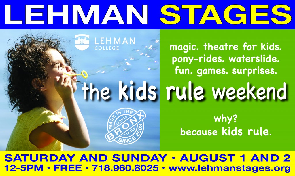 Kids Rule Weekend at Lehman College