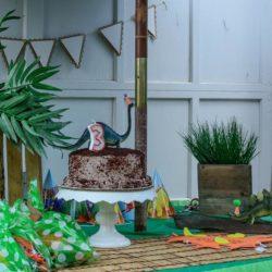 Pinterest Inspired Dinosaur Themed Party