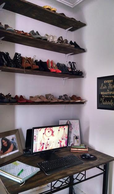 DIY Corner: Shoe Shelves