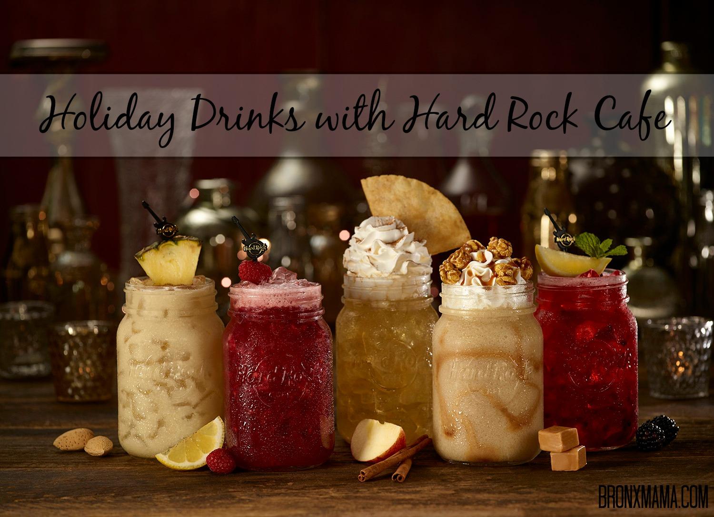 Feeling Festive at Hard Rock Cafe| Holiday Drinks