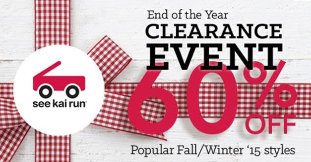 End of Year Clearance Event with See Kai Run + Giveaway!