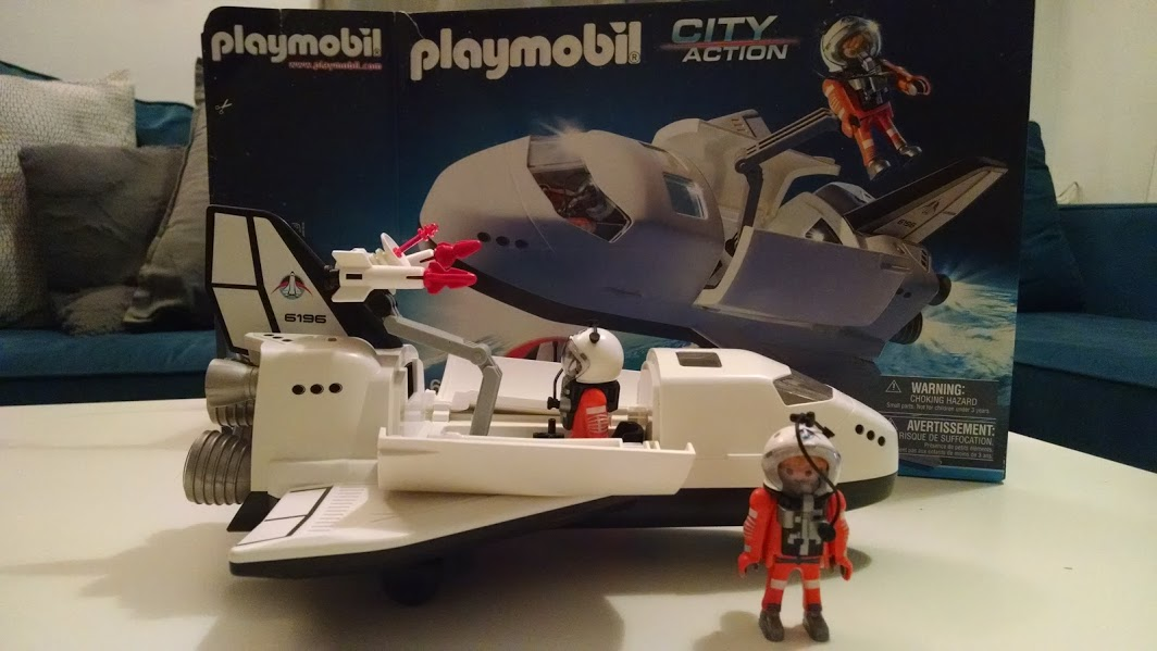Unboxing the Playmobil City Action Space Shuttle
