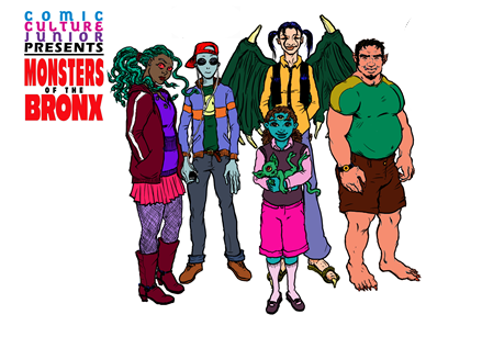 COMIC CULTURE JR.: MONSTERS OF THE BRONX