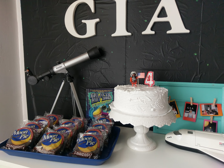 Party Idea: Outer Space Theme