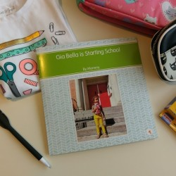 A Customized Book for Little Ones Starting School