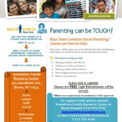 Free Parenting Classes in the Bronx