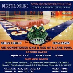 Registration for Hostos Basketball Academy