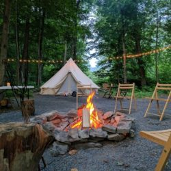 Island Glamping at The Shawnee Inn in the Poconos