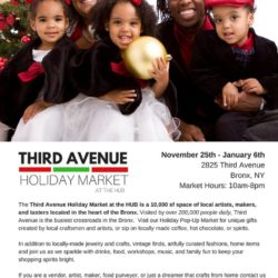 Vendors Invited to Participate in Third Avenue Holiday Market