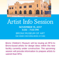 Bronx Children's Museum is Calling on Bronx Artists