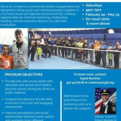 Cary Leeds Tennis Center Hosts 3-Month Community Engagement Program with Tennis Clinics & Warm Meals