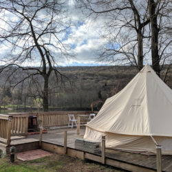 Riverside Glamping at the Shawnee Inn in the Poconos