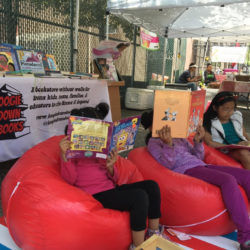Boogie Down Books Returns to South Bronx Farmers Market with Kids Books & Reading Nook