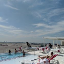 This Rooftop Pool at JFK is the Ultimate Staycation