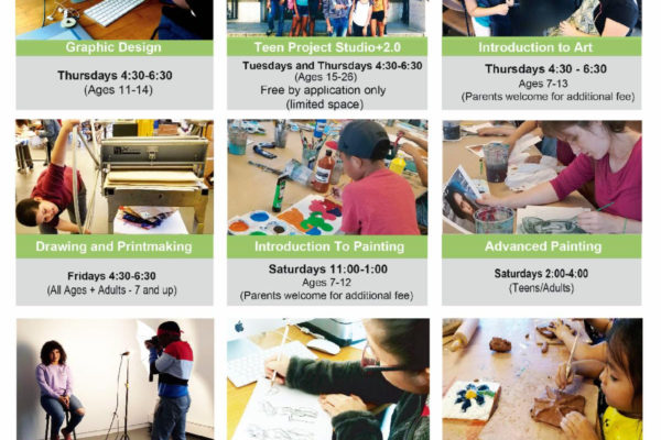 Bronx River Art Center's Fall Registration Early Bird Special