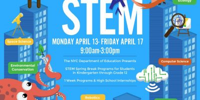 Apply Now For These Free STEM Enrichment Programs During Spring Break