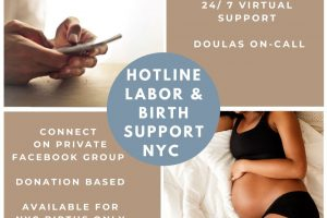Group of NYC Doulas Providing Virtual Support